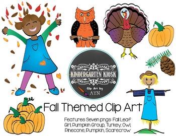 Fall Themed Clip Art