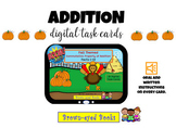 Fall Themed Commutative Property of Addition Digital Task Cards