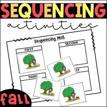 Fall Themed Differentiated Centers/Activities for Sequencing