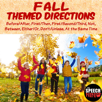 Fall Themed Directions