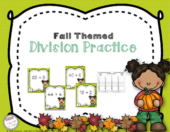 Fall Themed Division Practice
