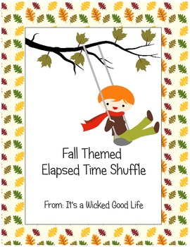 Fall Themed Elapsed Time Shuffle