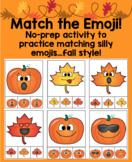 Fall Themed Emoji Matching