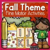 Fall Themed Fine Motor Activities