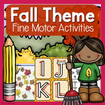 Fall Themed Fine Motor Activities