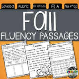 Fall Themed Fluency Passages