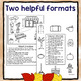 Fall Themed Following Directions Worksheets