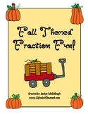 Fall Themed Fraction Fun!