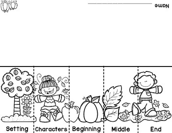 Fall-Themed Graphic Organizers {For Any Fall Story!}