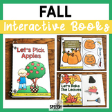 Fall Themed Interactive Book Set