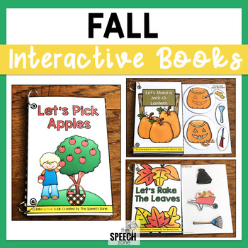Fall Themed How-To Interactive Book Set