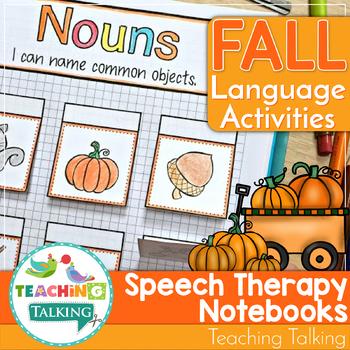 Fall Themed Interactive Language Notebooks