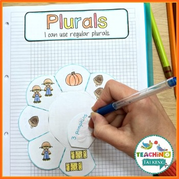 Fall Language Activities for Notebooks
