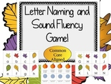 Fall Activity Letter Naming or Sound Fluency Game