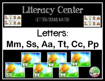 Fall Letter/Sound Center (M,S,A,T,C,P)