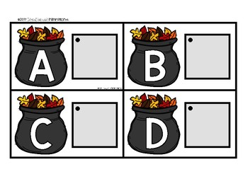 Fall-Themed Matching Cards for Letters and Sounds