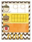 Fall-Themed Math Center - Write It, Draw It, Make It! - Nu