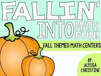 2nd Grade Fall Math Centers