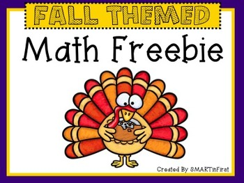 Fall Themed Math Freebie