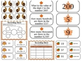 Fall Themed Math Games (9 games)