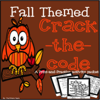 Fall Themed Math & Literacy Packet - Print & Practice