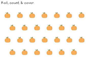 Fall Themed Math Mats