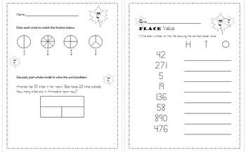 Fall Themed Math and ELA