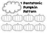 Fall-Themed Mini Compositions: Pentatonic Pumpkin Patterns