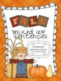 Fall Themed Mixed Up Sentences
