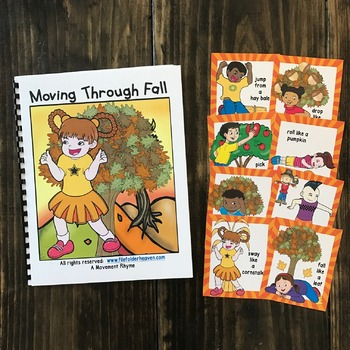 Fall Themed Movement Cards (And Book!)