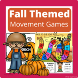 Fall Themed Movement Games