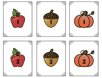 Fall Themed Partner Cards