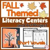 Fall Themed Phonics Centers   Word Work Centers   CVC Activities
