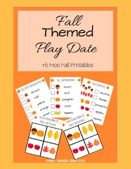 Fall Themed Play Date