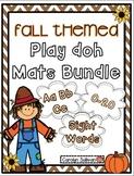 Fall Themed Play Doh Mats BUNDLED
