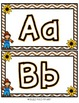 Fall Themed Play Doh Mats- Letters