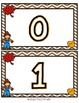 Fall Themed Play Doh Mats- Numbers 0-20