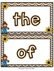 Fall Themed Play Doh Mats- Sight Words (100 Fry