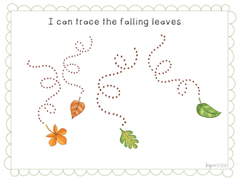 Fall-Themed Pre-Writing Activities