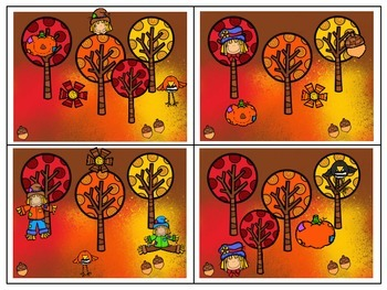 Fall Themed Prepositions for Expressive and Receptive Language