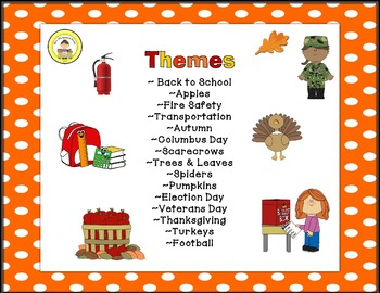 Fall Speech Therapy Prepositions