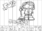 Fall Themed Puzzle Strips