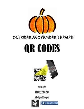 Fall Themed QR Codes