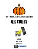 Fall Themed QR Codes