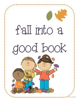 Fall Themed Reading Bookmarks and Posters