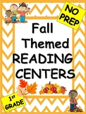Fall Themed Reading Centers and Activities-First Grade