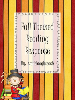 Fall Themed Reading Response