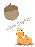 Fall Themed Retelling/Summary Beginning, Middle, and End