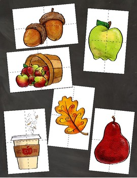 Fall-Themed Student Grouping Cards