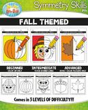 Fall Symmetry Skill Activity Pack {Zip-A-Dee-Doo-Dah Designs}